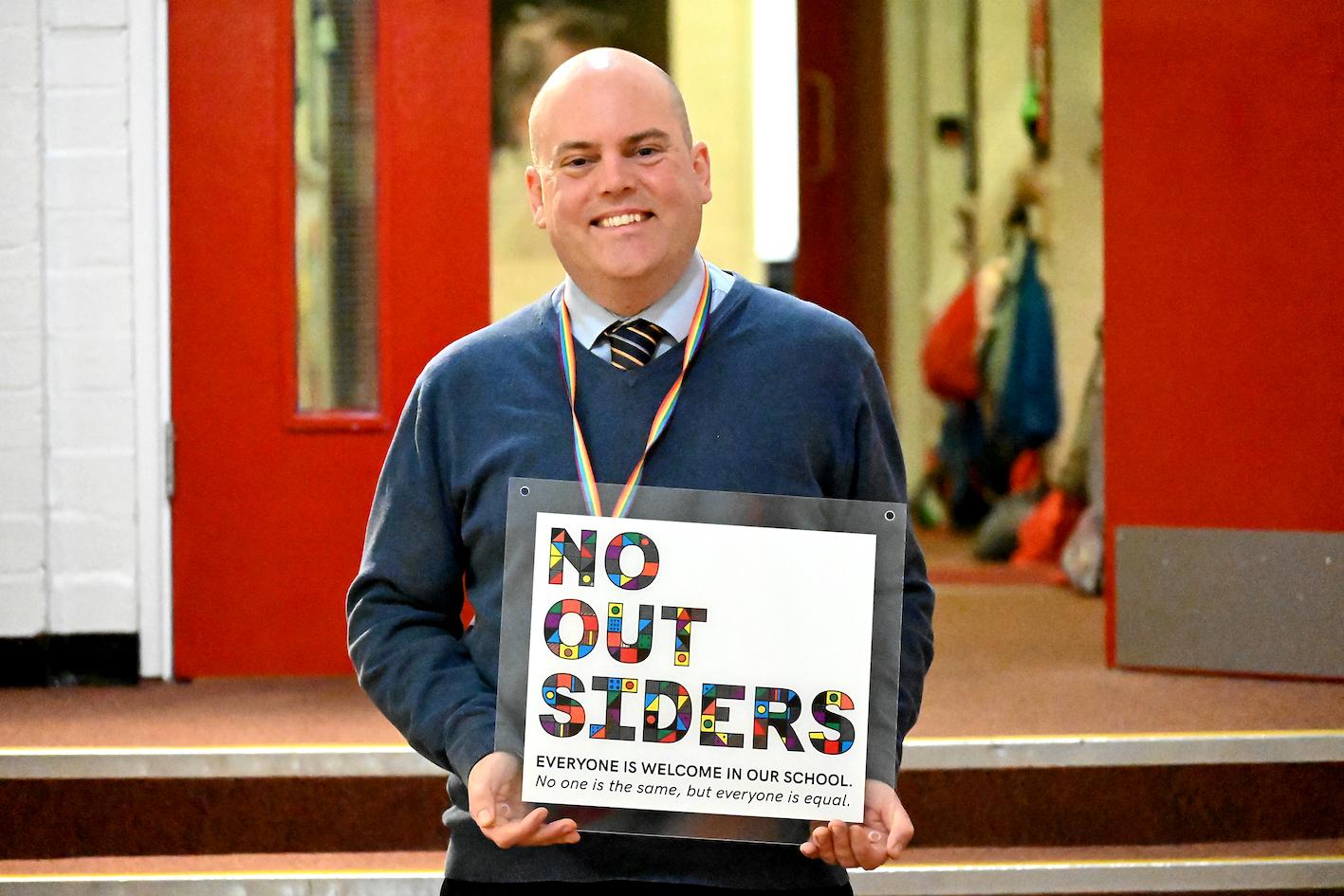Den brittiska läraren Andrew Moffat undervisar i sexualkunskap