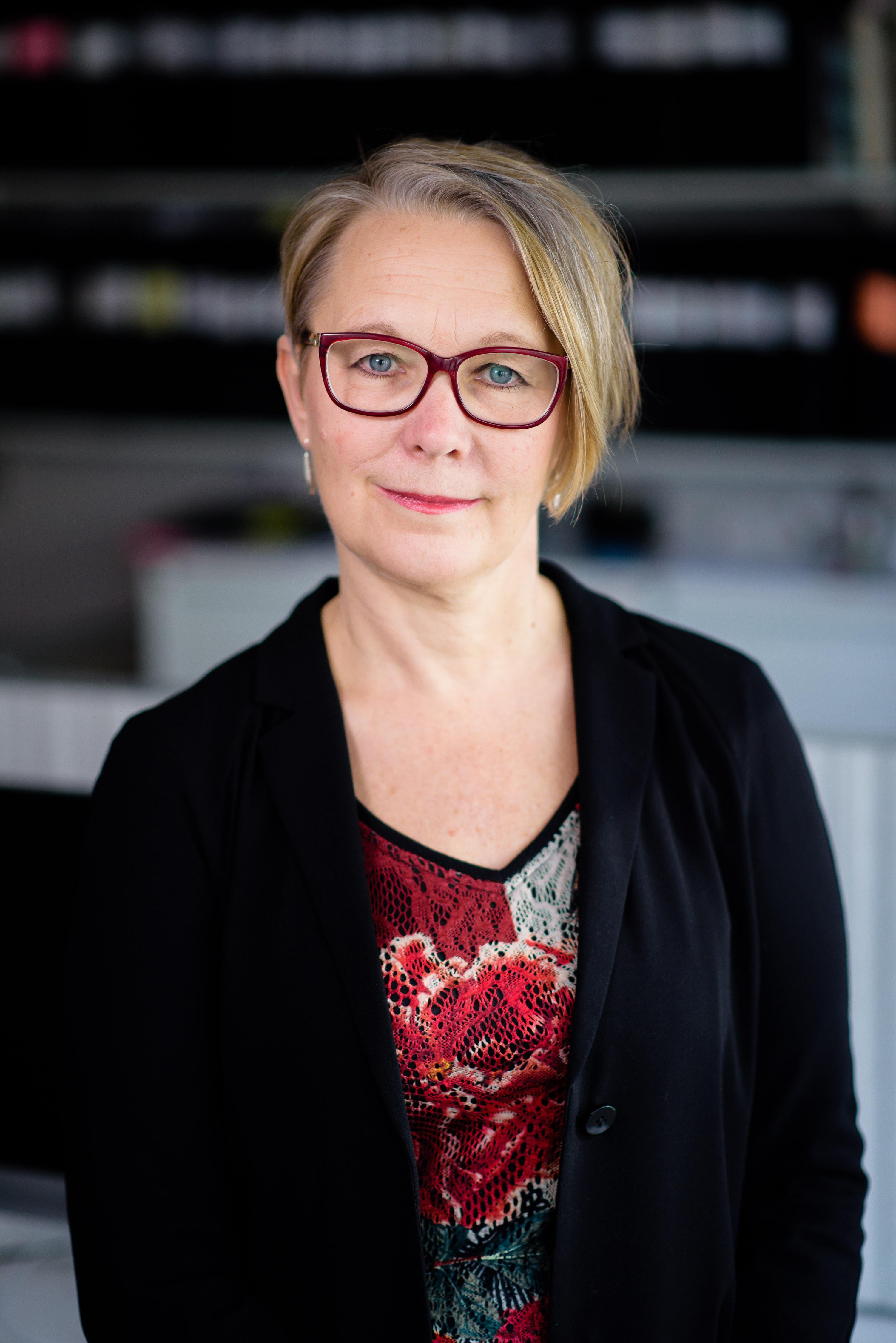 Porträtt av Anna-Karin Johansson