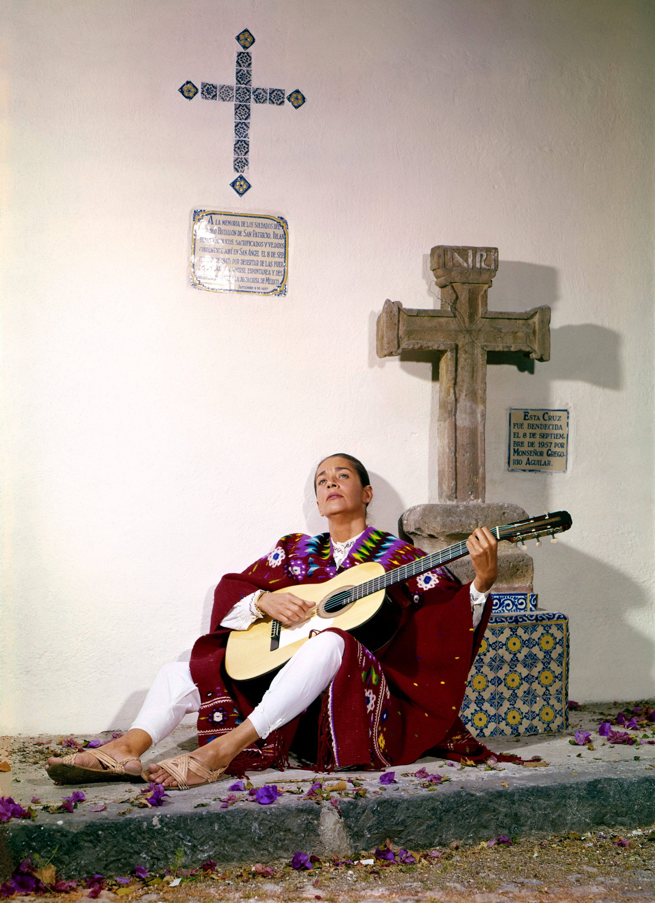 Sångerskan Chavela Vargas