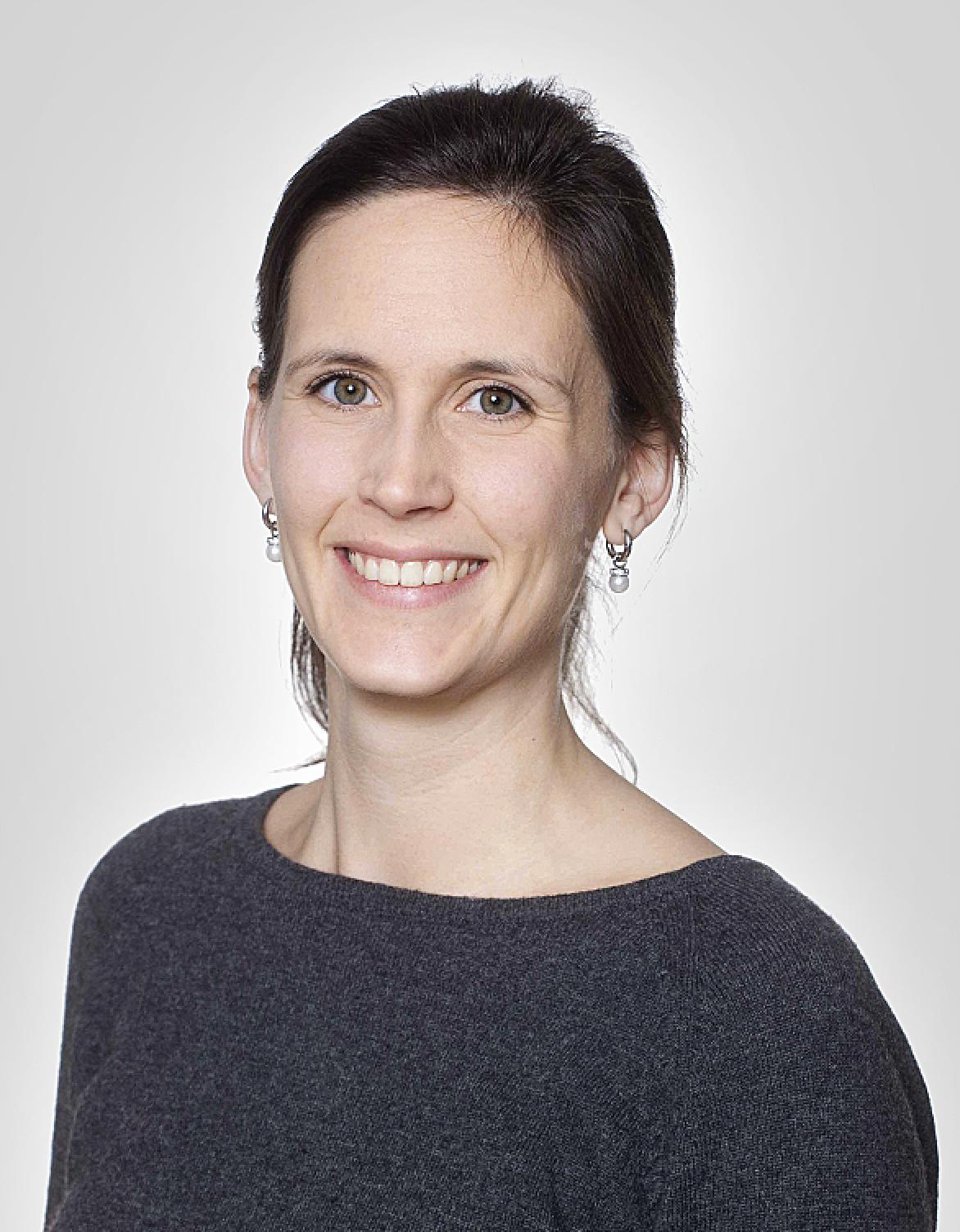 Porträttbild på forskaren Emma Aurin