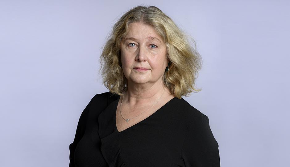 Eva Nordlund, Ordforande Svenska Barnmorskeforbundet. Foto: Stefan Bohlin