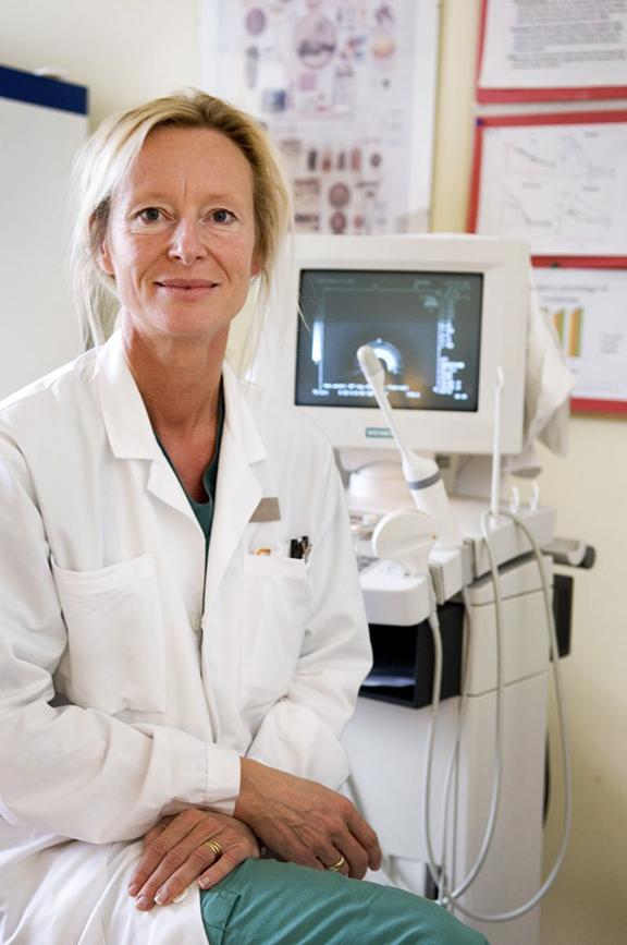 Kristina Gemzell-Danielsson, professor och överläkare.