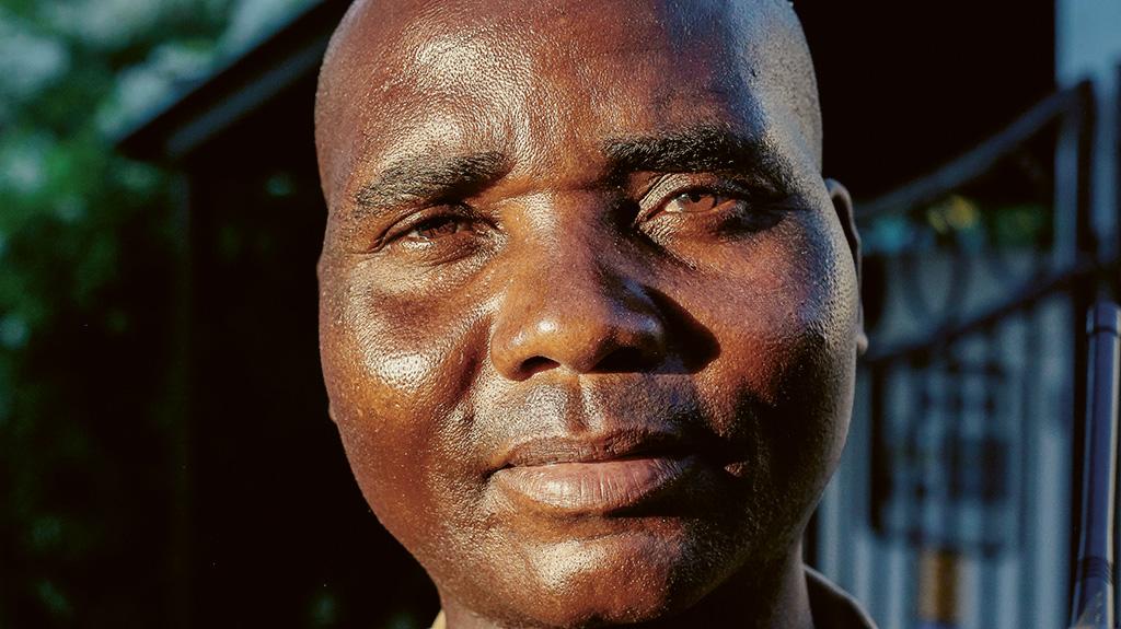 Leveson Mubonesi. Bild: Kombo Chapfika.