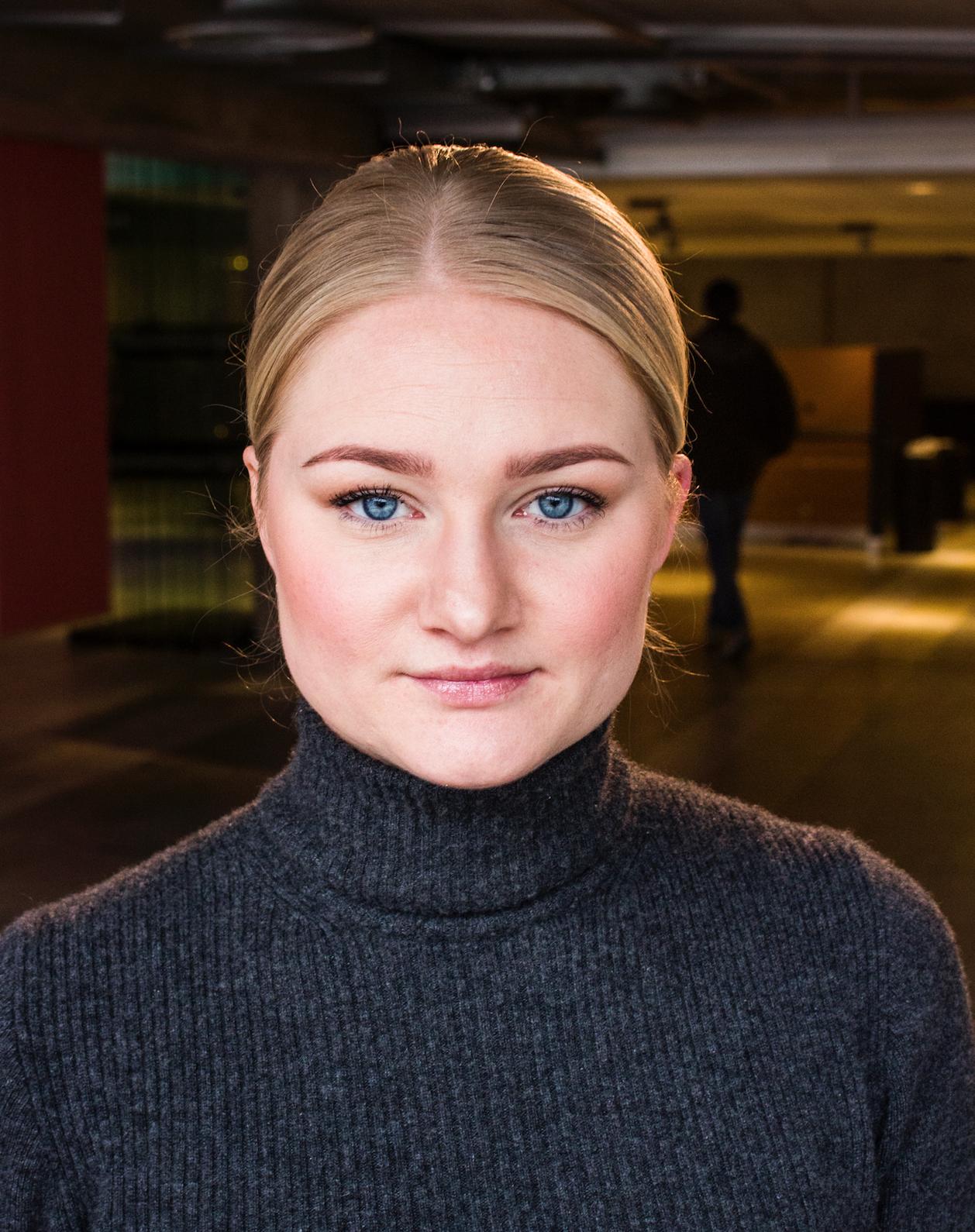 Ansiktsbild av Sofia Österlöf.