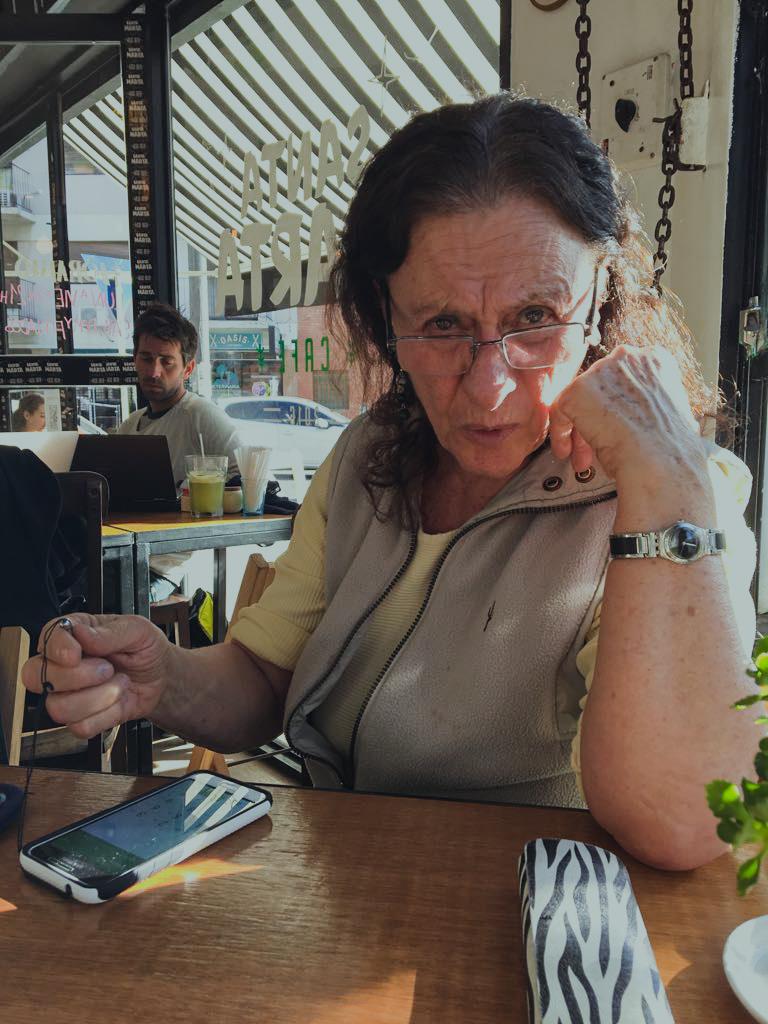 Silvia Chejter, sociolog. Foto: Kinga Sandén
