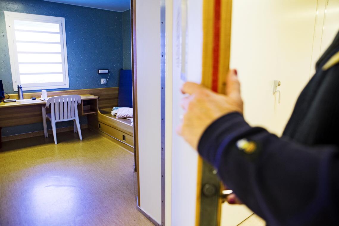 Häktet i Nyköping. Bild: Kriminalvården.