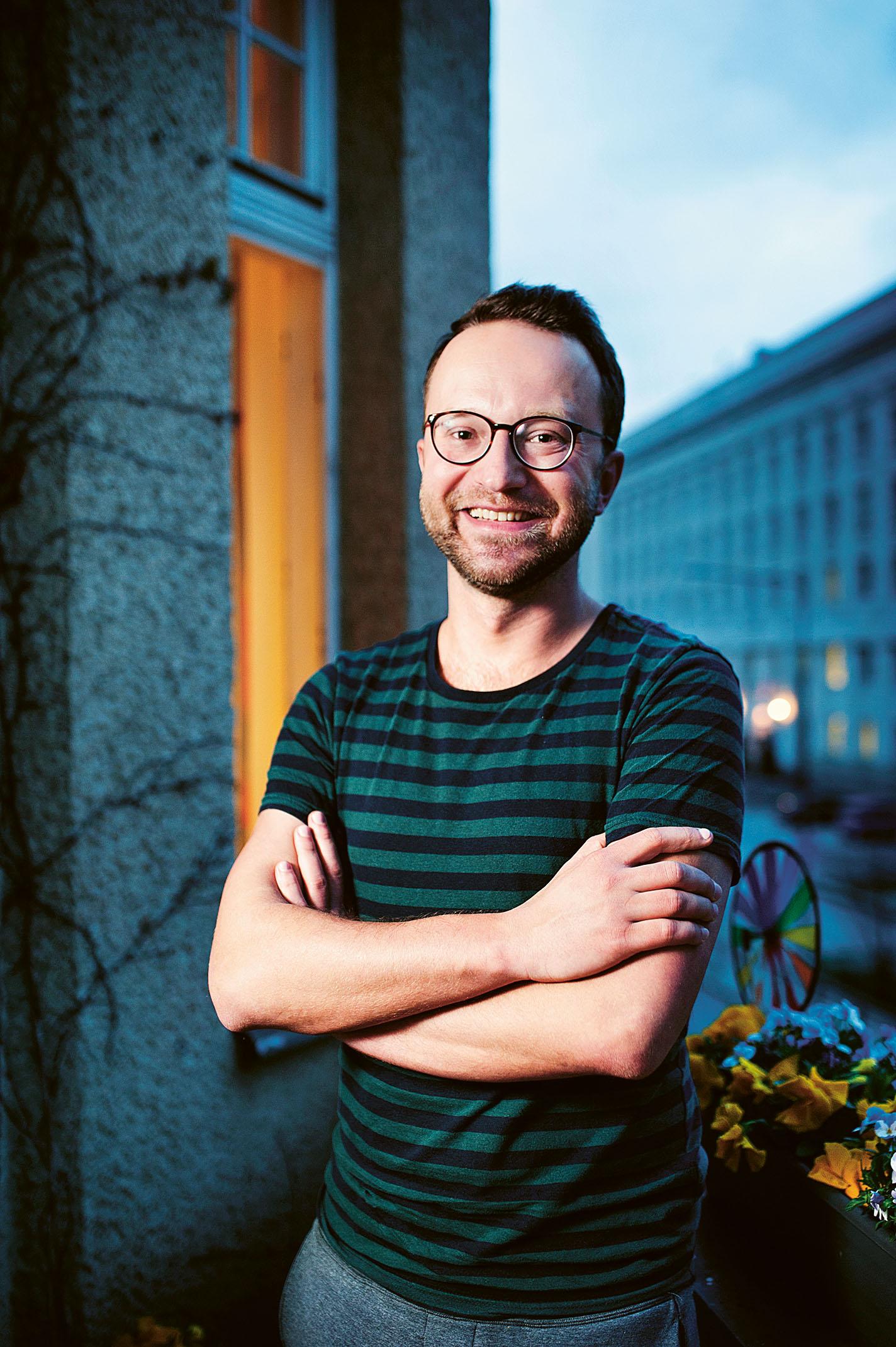 Piotr Godzisz. Bild: Mattias Lundblad.