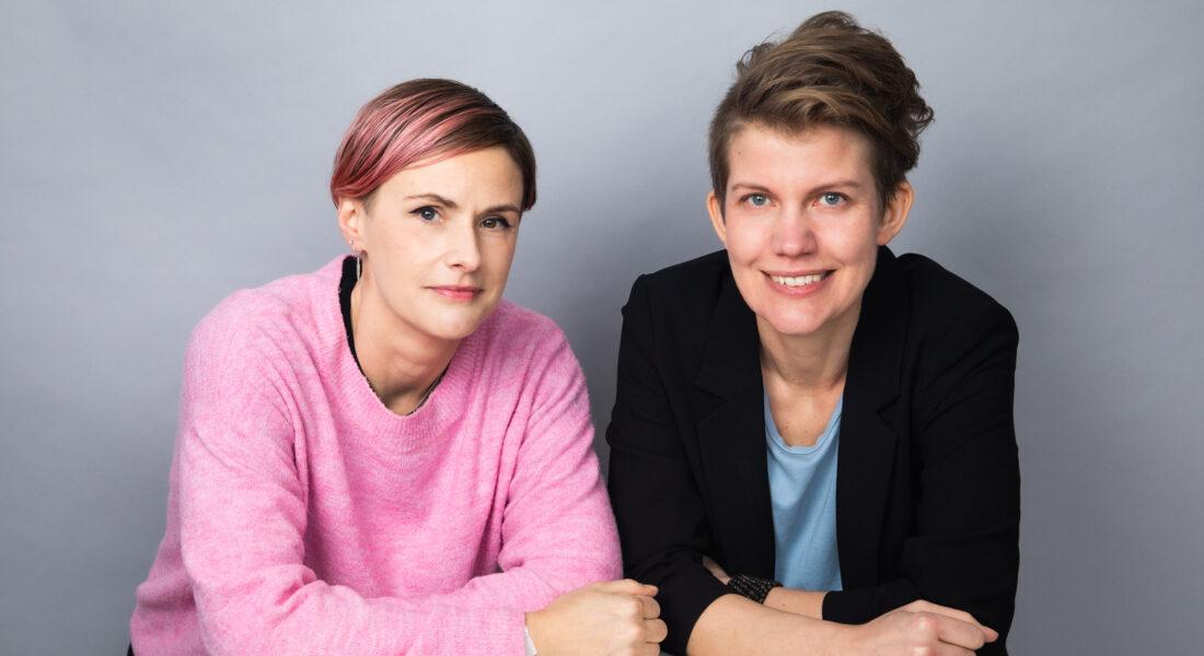 Bil dpå Ottars chefredaktörer, Carolina Hemlin och Ida Måwe
