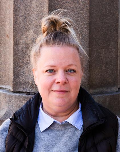 Porträtt på Annika, som fått hjälp av en abortdoula.
