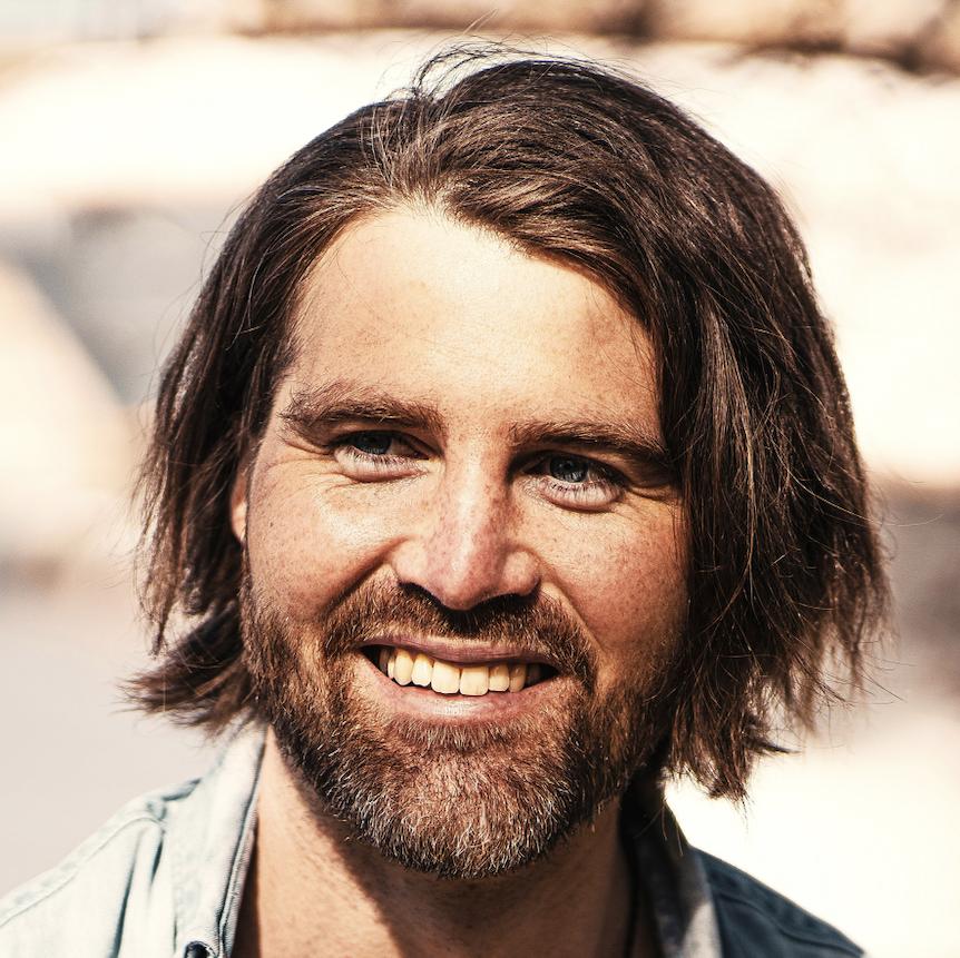 Porträtt på Erik Bring Larsson