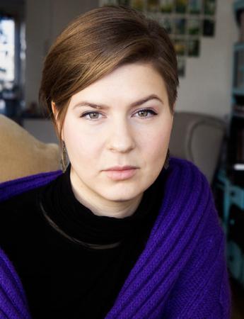 Porträtt på Jenny Koos